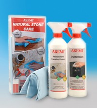 Natural Stone Care Set